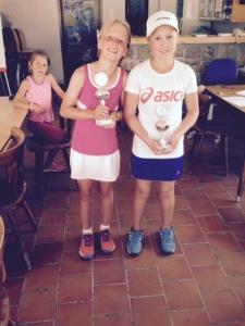 Finalistes U12 filles
